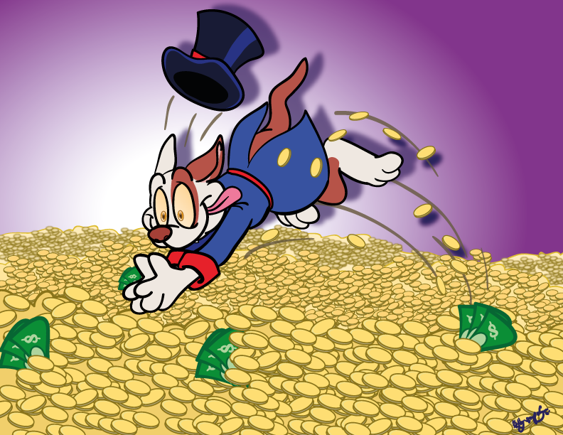 Scrooge Mc Dog